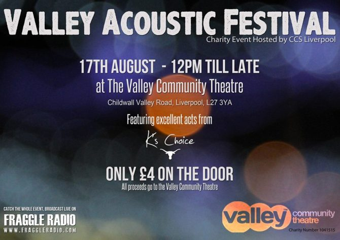 Valley theatre gig